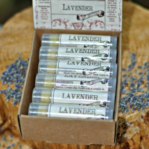 Lavender Lip Butter, 12 Pack of Herbal Infused Lip Balm, Natural Lip Balm, Calming Aromatherapy Balm, Handmade The Natural Choice Apothecary