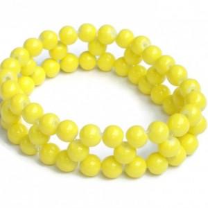Yellow Stretch Bracelet