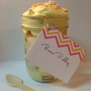 Twice as Nice  Banana Pudding in a Jar  (2 lbs)