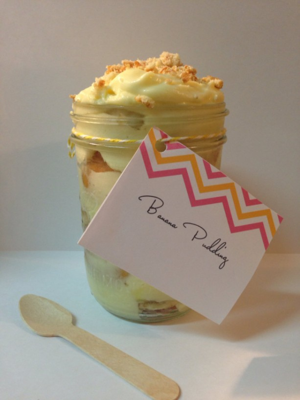 Twice as Nice  Banana Pudding in a Jar  (2 lbs)