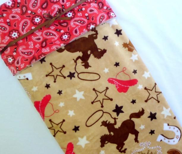 Baby Blanket, Cowboy Minky Baby Blanket, Cowgirl Baby Blanket, Western Baby Blanket
