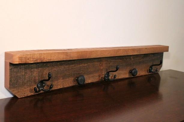 Wooden Shelf - Coat Rack