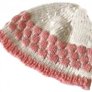 Newborn gift .Cashmere / Wool -  Baby Girl / Infant  / Preemie -  Natural White -Beanie / Hat.