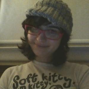 Slouchy Grey Billed Hat