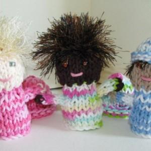 Custom Finger Puppet - Handmade to Order / MirandasLoom