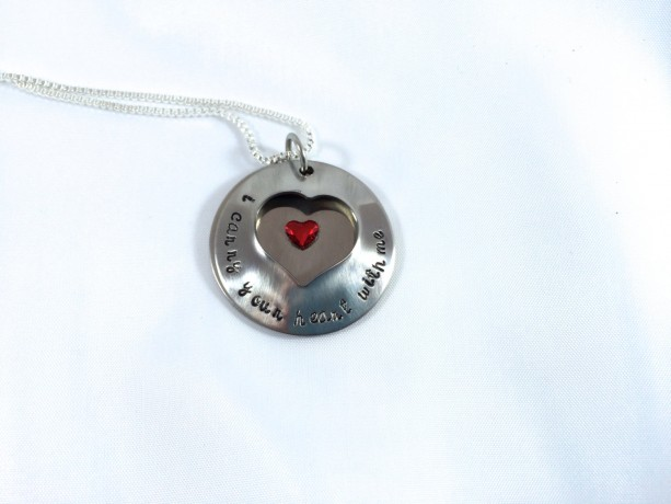 i carry your heart with me Heart Locket
