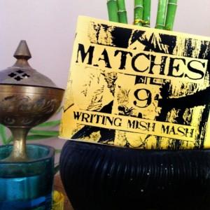 Zine Set #003: MATCHES - The Writer's Series (#3, #4, #8, #9)