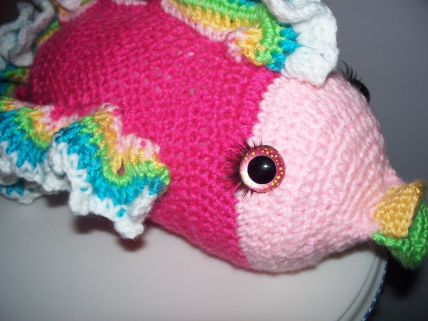 amigurumi fish, fish, stuffed fish, crochet fish, tropical ...