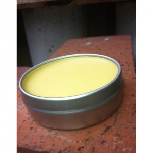 Unrefined Hand Salve with Shea and Cocoa Butter -Unscented