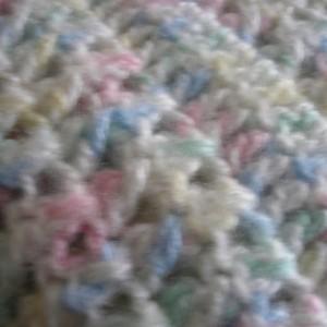 Baby Afghan - 36x36 - Confetti