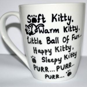 Soft Kitty Warm Kitty Sheldon Quote Coffee Mug For The Big