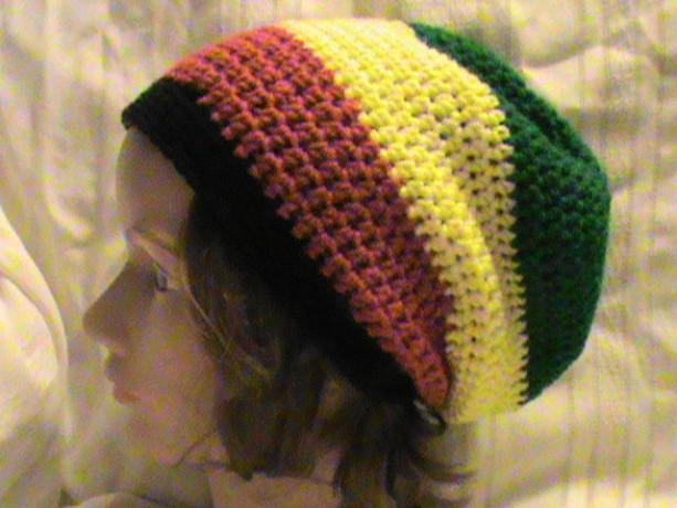 Unisex Crochet Rasta Hat Aftcra