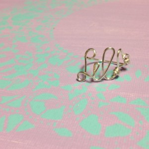 Silver Little Sorority Rings, Sorority Gift Rings, Gift for Little, Gift from Big, Silver Big Little Ring