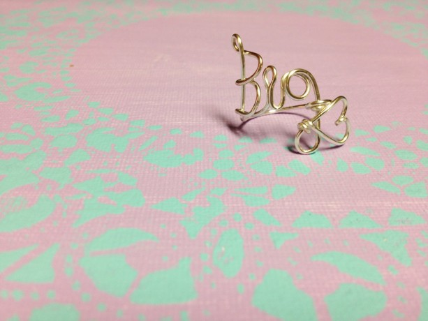 Big Sorority Rings, Sorority Gift Rings, Gift from Little, Gift for Big, Silver Big Little Ring, Gold Big Little Ring