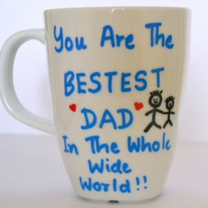 Valentine's Day Gifts For Dad - World's Best Dad Coffee Mug - Gift For Father 10 oz