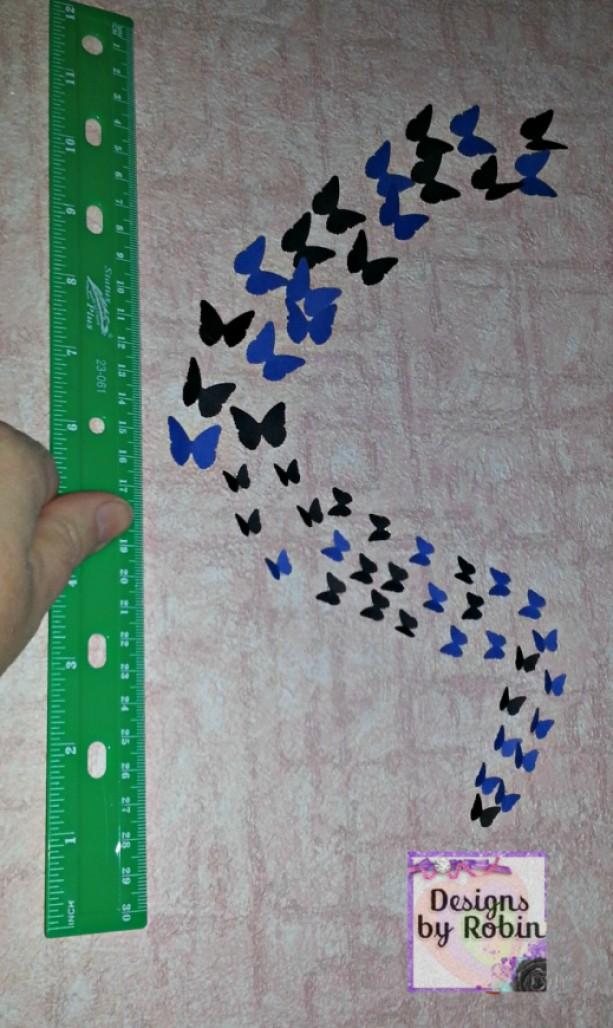 3D butterfly wall art, swarm of butterflies,wall art, baby room decor, child decor, bridal shower, wedding decor