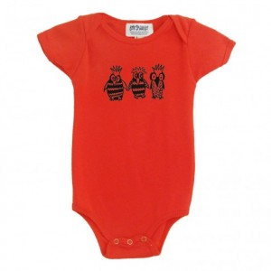 Organic owl baby onesie Cotton American Apparel one-piece bodysuit