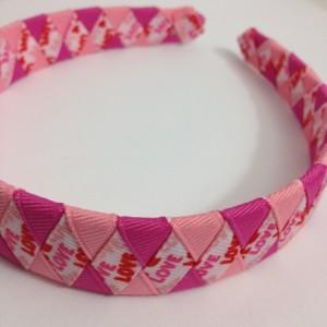 Love Valentine's Day Woven Headband