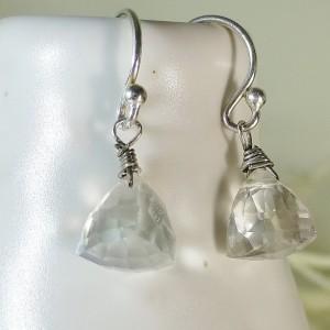 Silver mystic topaz earrings, sterling silver dangle earrings, topaz earrings,dangle earrings,gemstone earrings,cute earrings,bridal jewelry