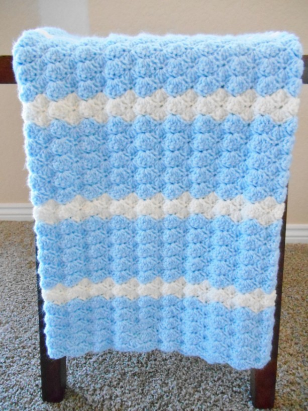 Crochet Baby Blanket For Boys Aftcra