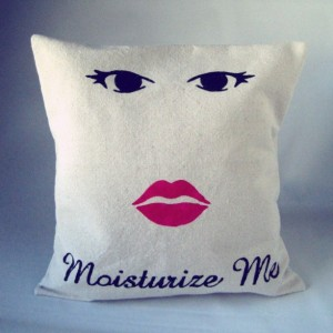 Doctor Who Pillow Throw Cassandra Moisturize Me Sham