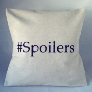 Doctor Who Pillow Throw Spoilers