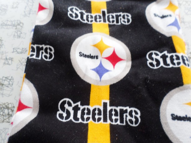 Door Draft Stopper, Door Snake, Door Draft Guard, Door Draft Blocker, Pittsburg Steelers Draft Blocker, NFL Football