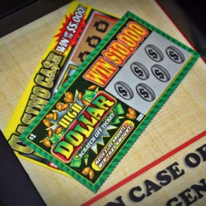 Get Lucky - Lottery Tickets - Funny St Patricks Gift, Gift for Men, Women, Gift for Him, Her, Gambler, Birthday Gift, Bachelor Party Gift