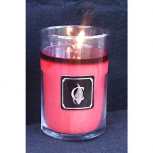 PEPPERED POPPIES candle, 12 oz