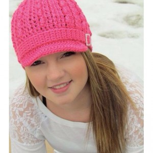 Bright Pink Hollywood Hat