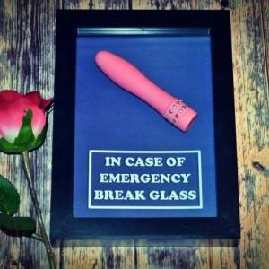 Mini Vibrator Dildo - Emergency Box for Girls or Women - Bachelorette Party Gift, Bridal Shower Gift for Her, Gift for Girlfriend, Valentine