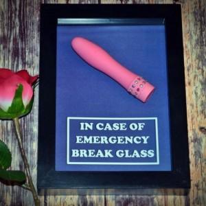 Mini Vibrator - Emergency Box for Girls or Women - Bachelorette Party Gift, Bridal Shower Gift for Her, Gift for Girlfriend, Wife, Valentine