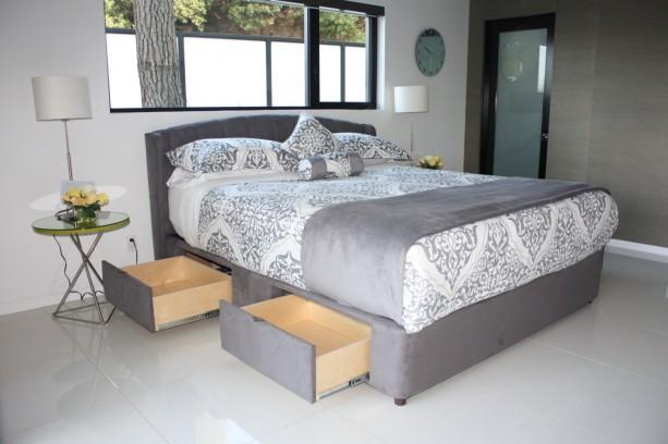 Luxuriuos chic modern storage bed platform storage bed - Best platform beds with storage ...