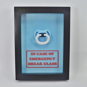 Baby Shower Gift - Pacifier - Emergency Kit - Gift for New Mom, Gift for New Parents, Gift for New Born, Gift for New Mother, Nursery Decor