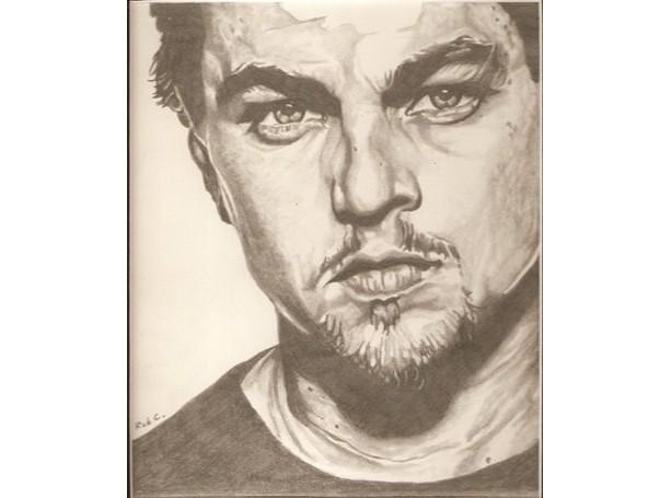 Leonardo DiCaprio original drawing