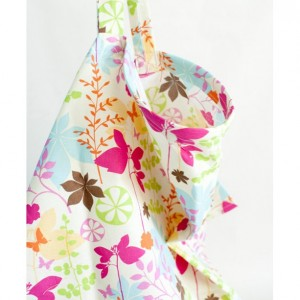 Enchanted Forest Butterfly Nursing Cover & Pacifier Clip