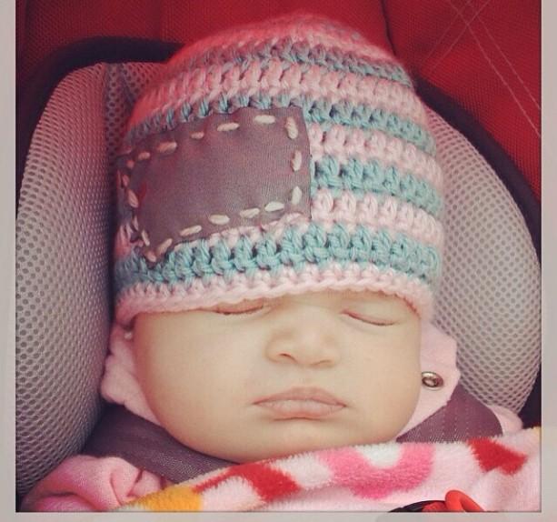 Baby MT love beanie