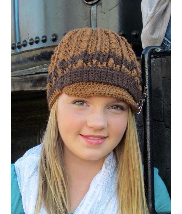 Brown on Brown Hollywood Hat