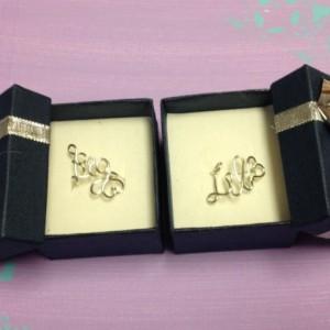Gift- Adjustable Silver Big and Little Sorority Rings, Adjustable Sorority Gift Rings, Gift for Little, Gift for Big, Silver Big Little Ring