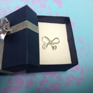 Bow Ring, Silver Bow Ring, Wire Bow Ring, Bow Jewelry, Silver Bow Jewelry, Wire Bow Jewelry
