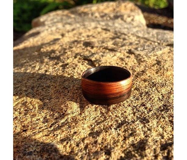 Ebony, Africa, Bentwood ring