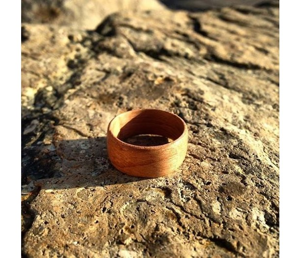 Cherry Bentwood Ring