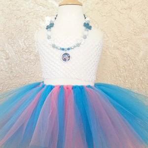 Ballerina tutu kids, blue pink tutu, baby girl tutu,  infant tutu, toddler tutu, newborn tutu, kids tutu, tutu skirt, girls dance tutu