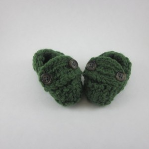 Knitted Baby Loafers