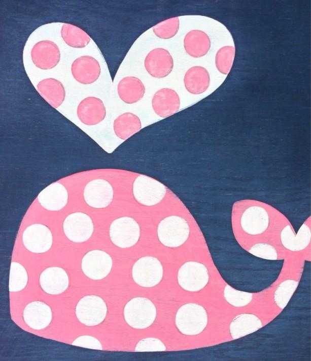 Nautical Nursery Art Whale Decor Kid S Bathroom Art Girl Ba Aftcra