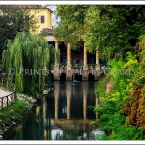 "Loggia Valmarana - 18"" x 12"" Italy print 