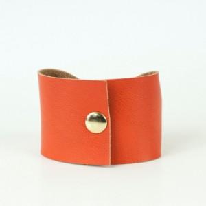 Orange Bow Bracelet Cuff, BowTie Faux Leather Vegan Cuffs, Doctor Who Tie Bowtie Scarf Accessory,  Wide Tattoo Cover