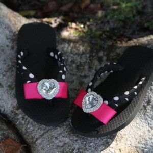 Children's Heart Flip Flop