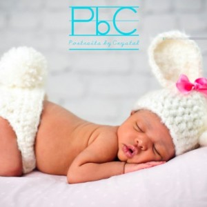 Bunny Newborn Set- Photo Prop, bunny photo prop, rabbit set, baby rabbit, easter bunny prop, baby easter bunny, newborn bunny costume