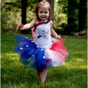 Stars and Stripes Tutu